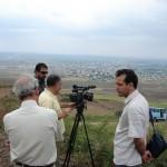 پرخوانان ترکمن در مراحل فیلمبرداری